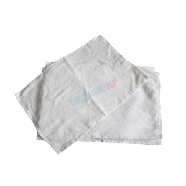 Törölköző fehér 30x45cm egész felületén nyomtatható