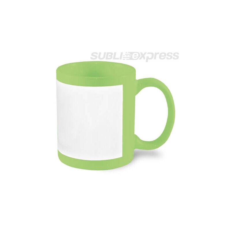 330 ml-es keretben szublimálható zöld bögre
