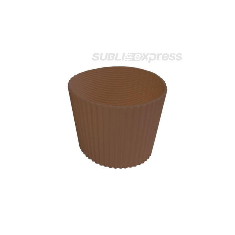 Gumi szalag ECO pohár bögrékhez bárna