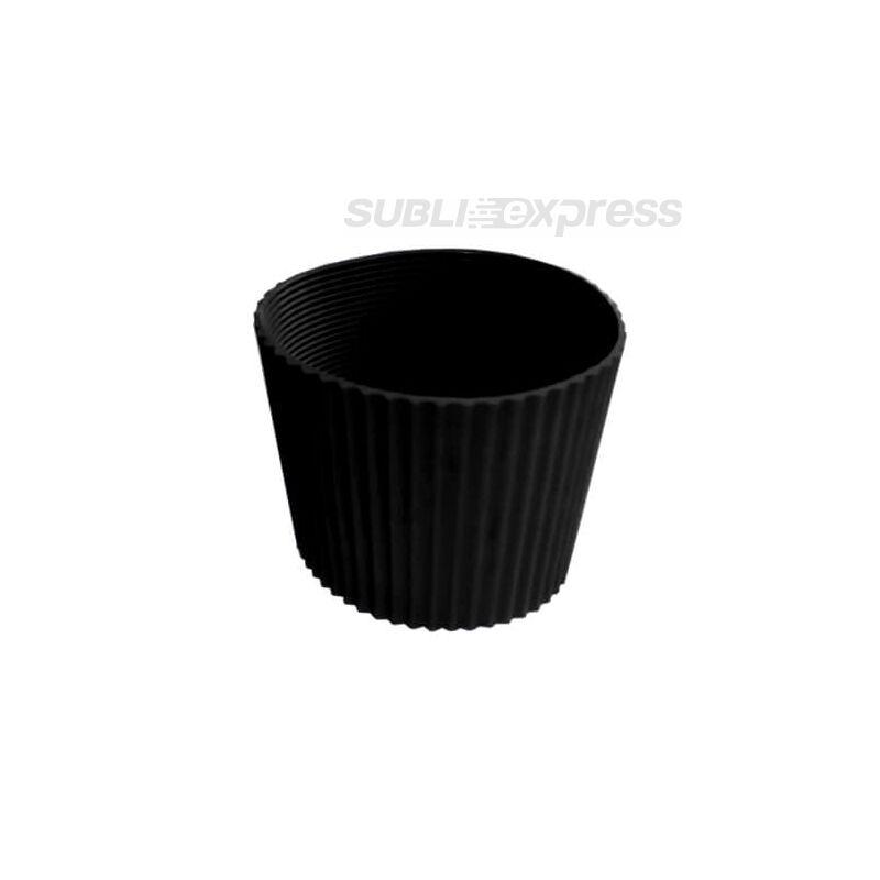 Gumi szalag ECO pohár bögrékhez fekete