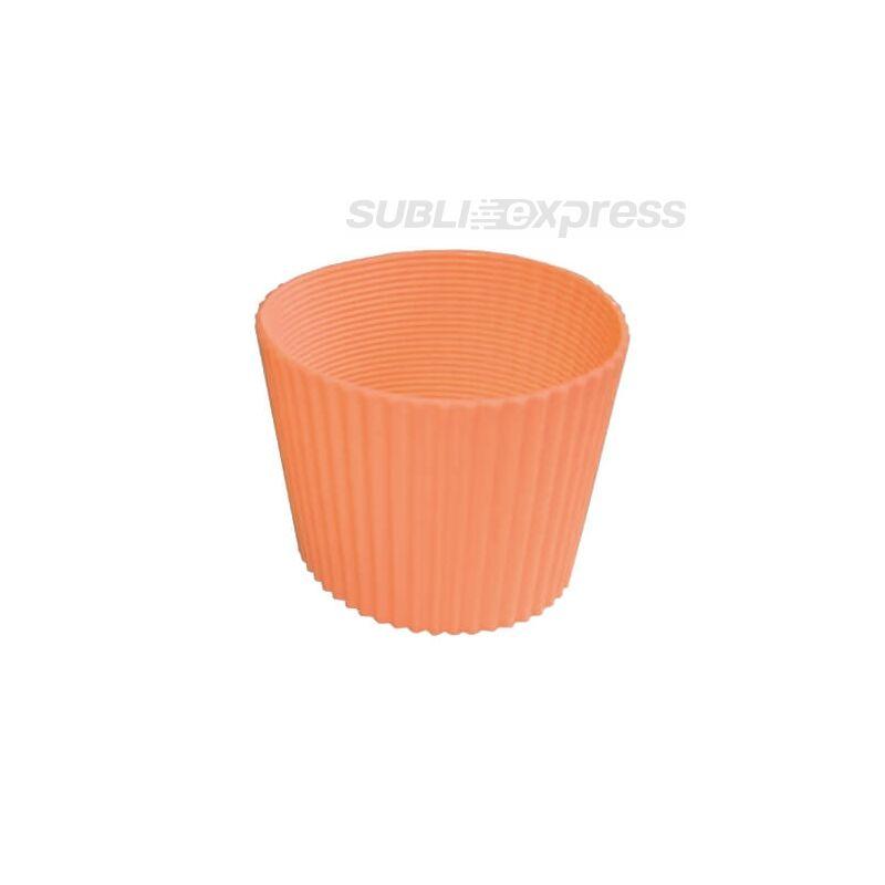 Gumi szalag ECO pohár bögrékhez narancssárga
