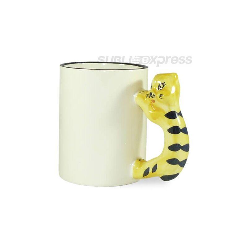 330 ml-es szublimációs bögre macskás