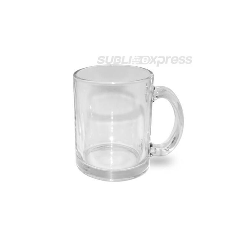 330 ml-es szublimácios üveg bögre átlátszó