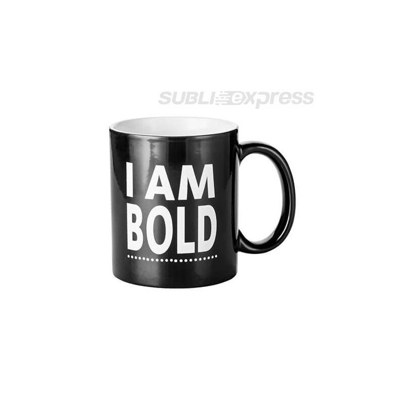 "Színváltós bögre ""I am bold"""