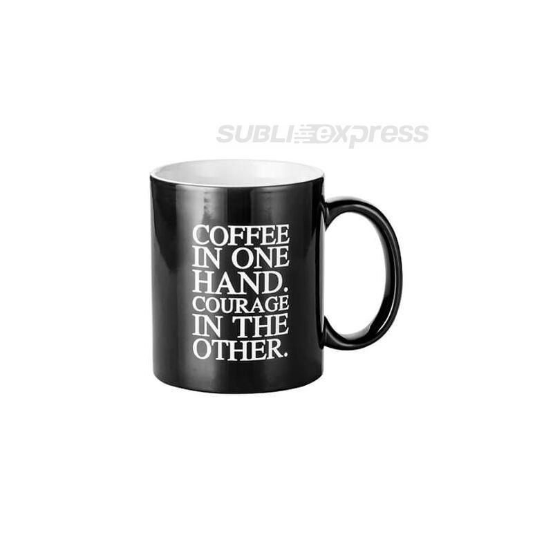"""Színváltós bögre """"Coffee in one hand"""""""