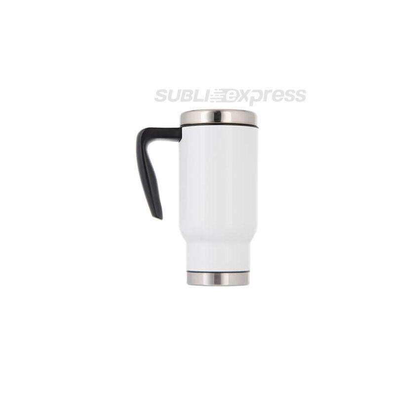 480 ml-es szublimációs termobögre fehér