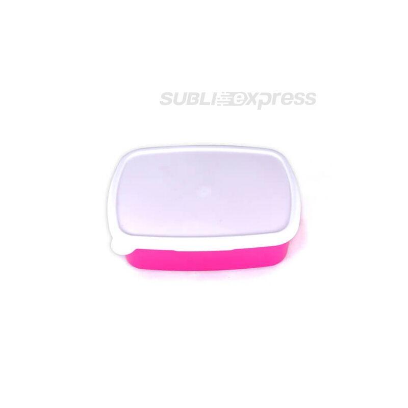 18 x 13 cm-es szublimációs műanyag doboz rózsaszín