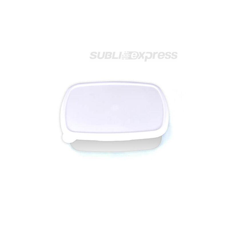 18 x 13 cm-es szublimációs műanyag doboz fehér