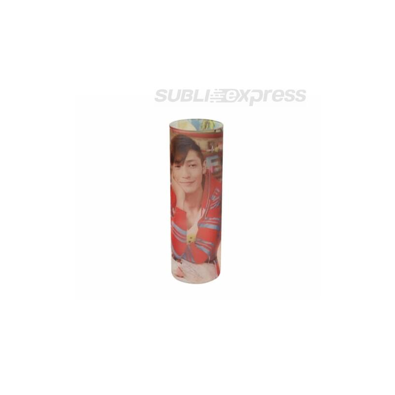 7,5 x 23 cm-es szublimációs kerámia váza