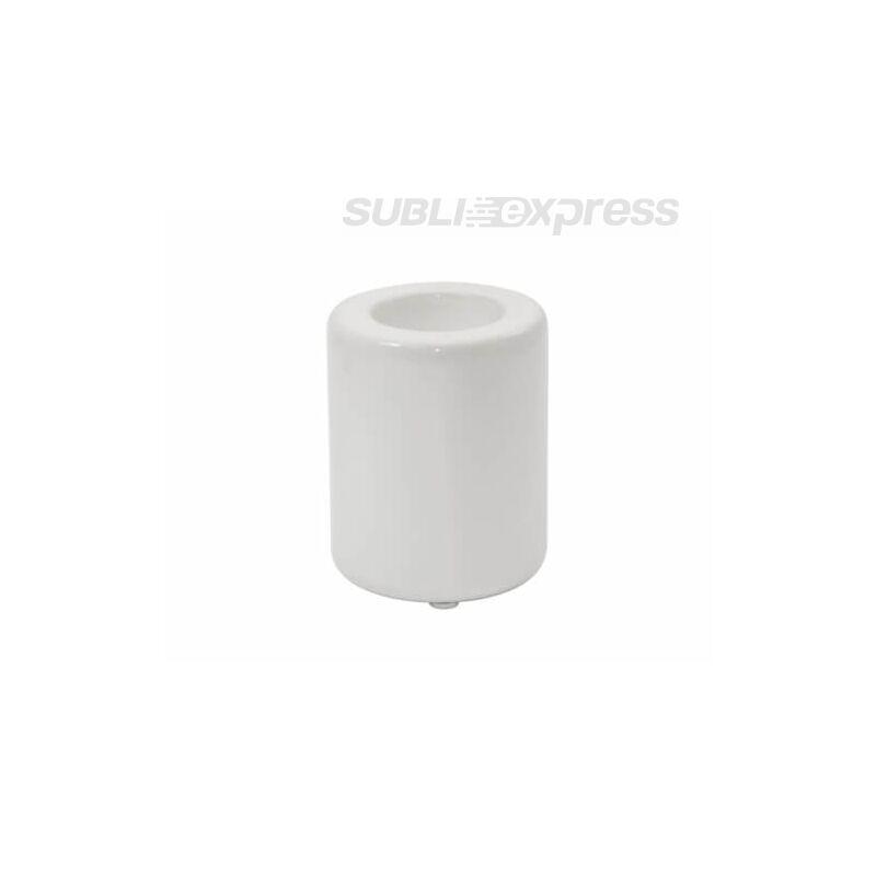 7,5 x 9,5 cm-es szublimációs kerámia gyertyatartó