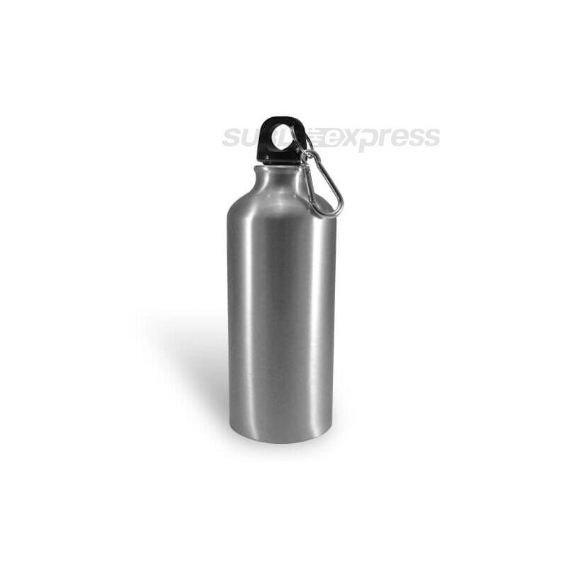 400 ml-es szublimációs turista kulacs ezüst