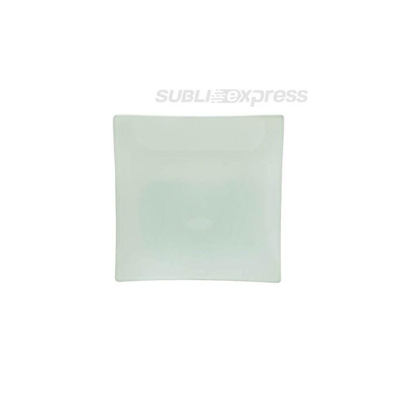 15 x 24 cm-es négyszögletes szublimációs üvegtányér