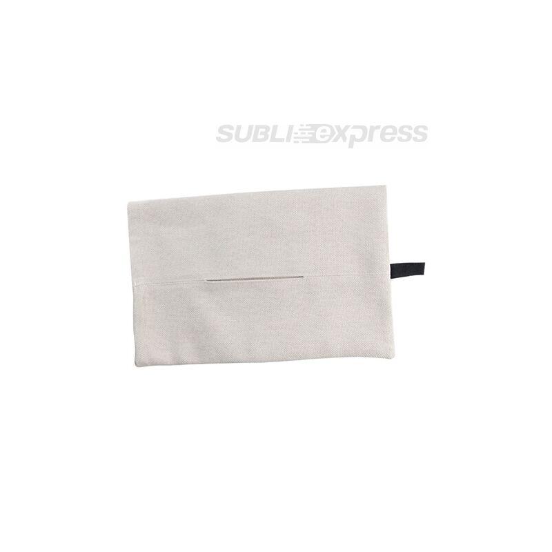 30 x 21 cm-es szublimációs vászon zsebkendőtartó