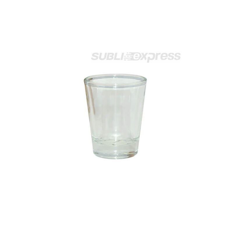 45 ml-es átlátszó szublimációs üvegpohár