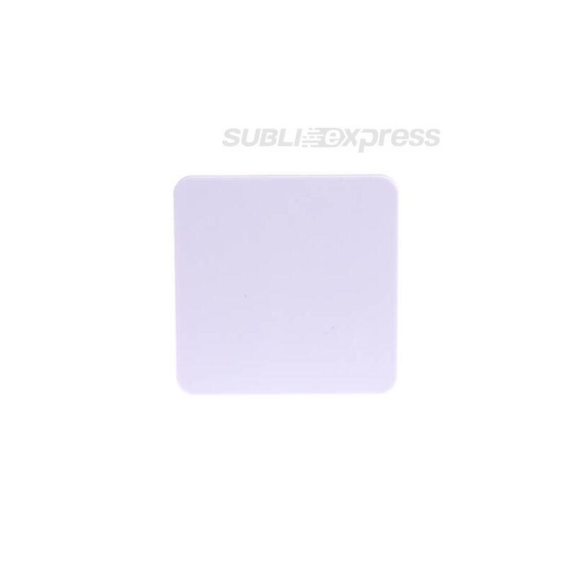 Szublimációs szögletes műanyag alátét