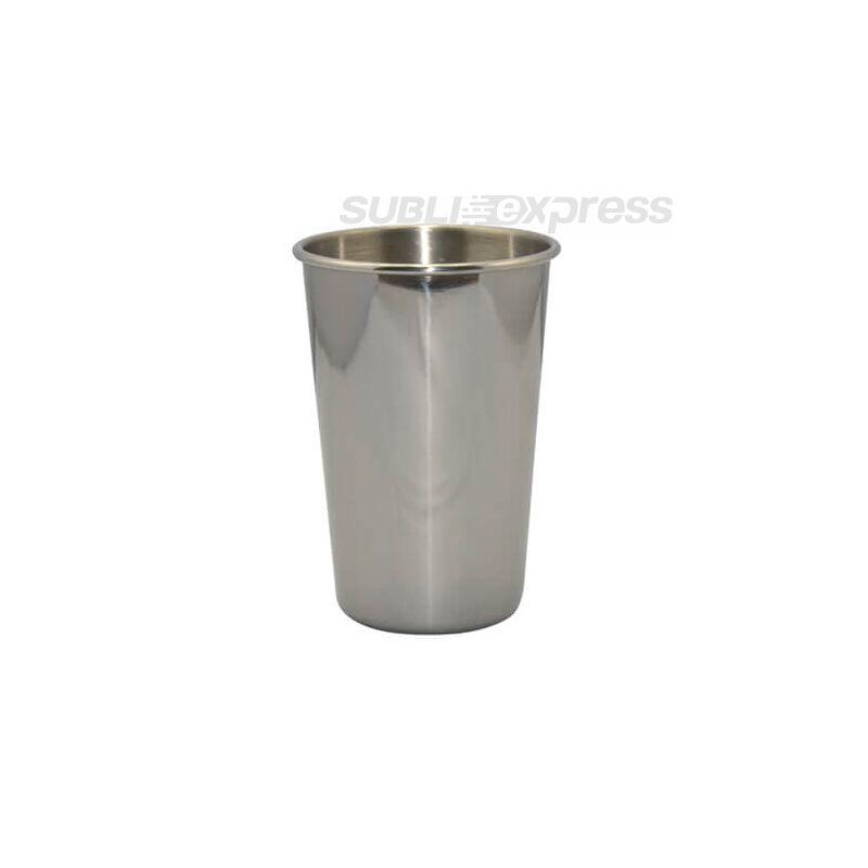 Szublimációs rozsdamentes acél termobögre ezüst