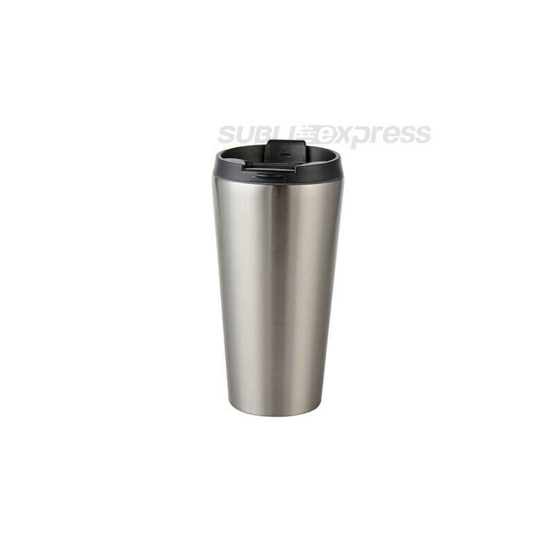 450 ml-es szublimációs rozsdamentes acél pohár ezüst
