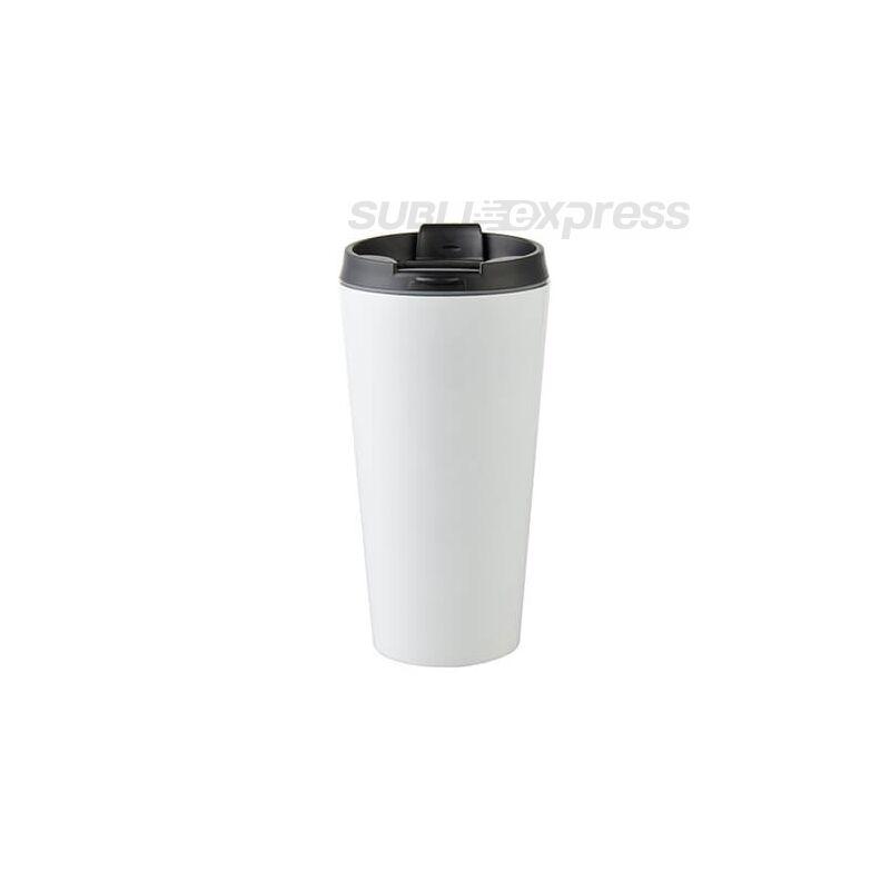 450 ml-es szublimációs rozsdamentes acél pohár fehér