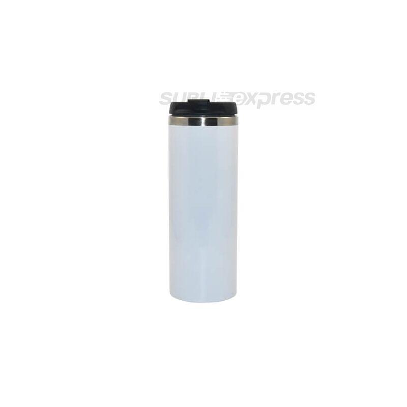 410 ml-es szublimációs rozsdamentes acél termobögre fehér