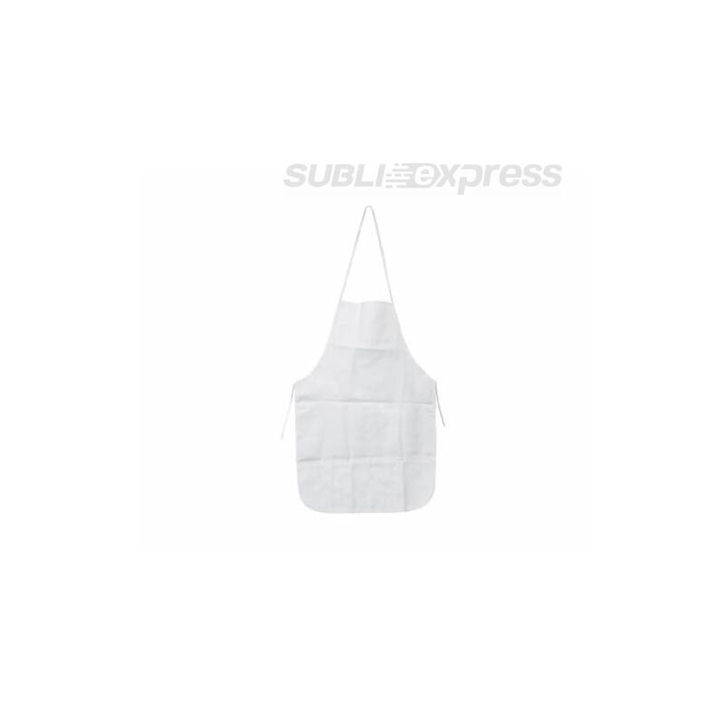 47 x 70 cm-es szublimációs konyhai kötény fehér