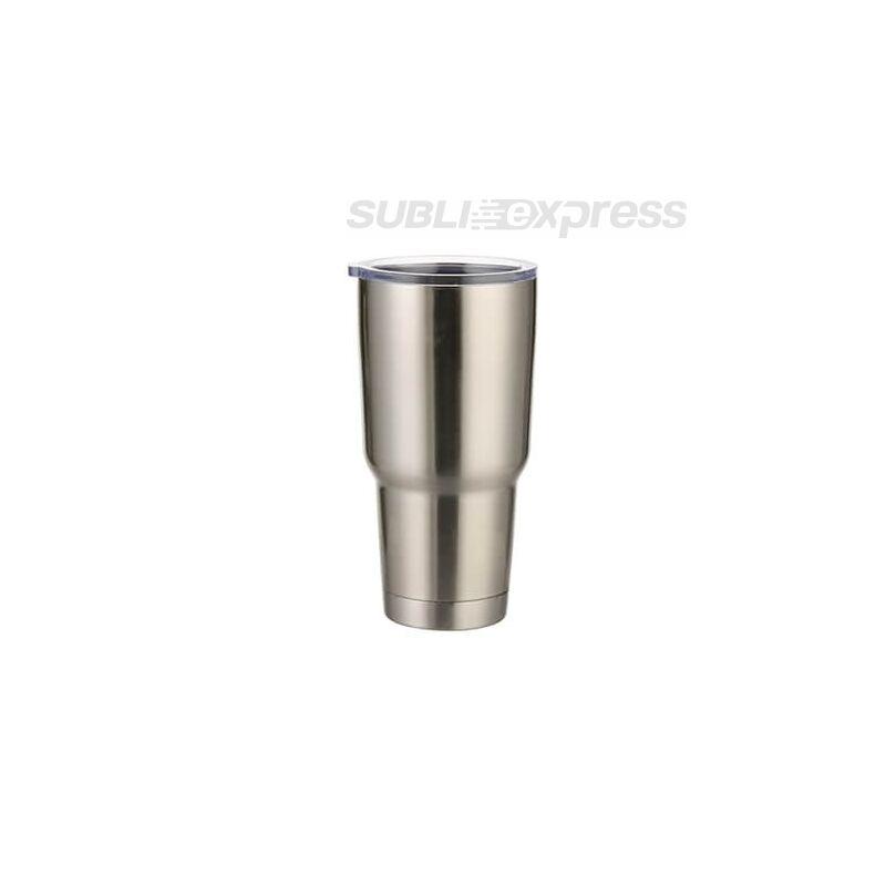 900 ml-es szublimációs termoszbögre ezüst színű