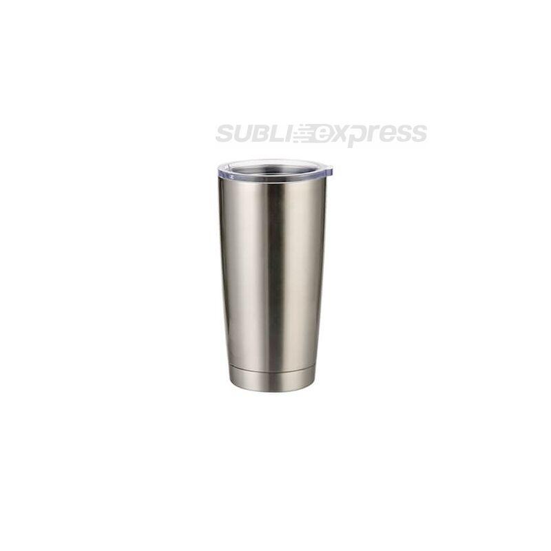 550 ml-es szublimációs termoszbögre ezüst színű