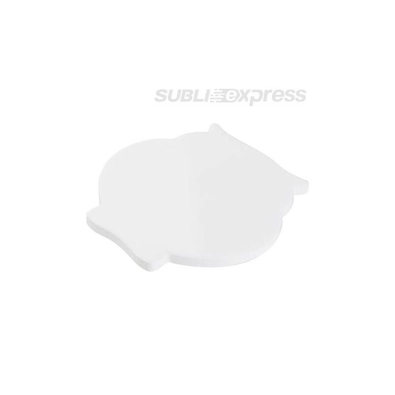 Szublimációs kerámia alátét bagoly alakú