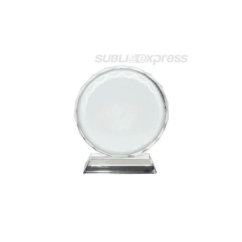 Szublimációs kristály kör alakú