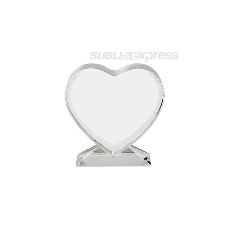 Szublimációs kristály szív