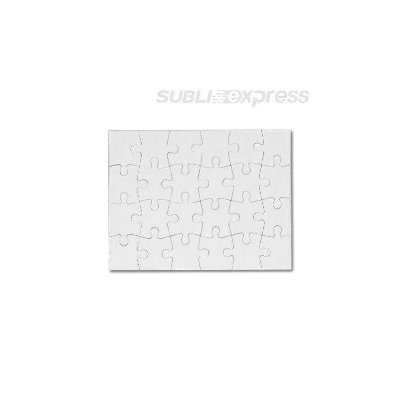 18 x 13 cm-es szublimációs puzzle 24 darabos