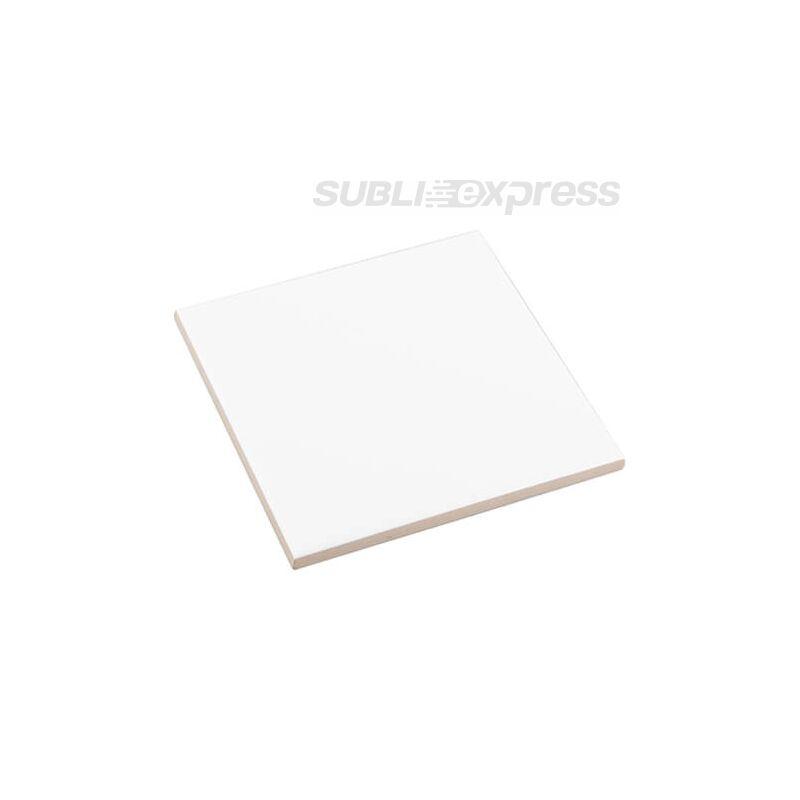 11 x 11 cm-es szublimációs kerámia lap matt fehér