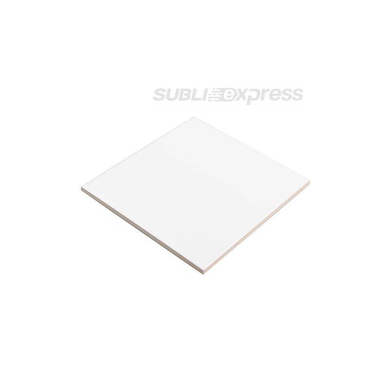 15 x 15 cm-es szublimációs kerámia lap matt fehér