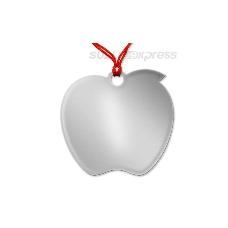 Szublimációs medál alma alakú