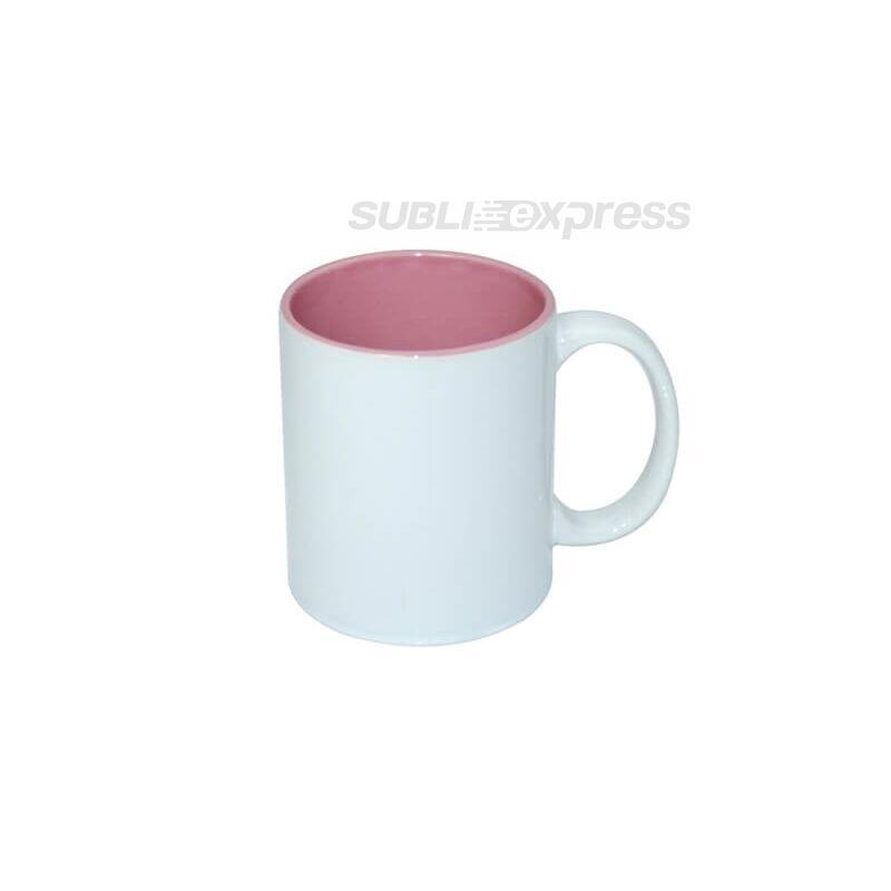 330 ml-es ECO bögre rózsaszín belsővel