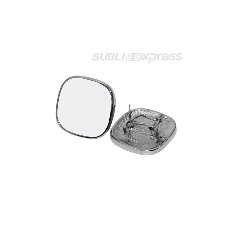 Szublimációs fülbevaló íves négyzet alakú