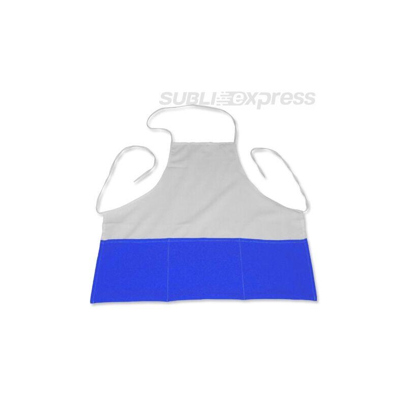 Szublimációs konyhai kötény kék