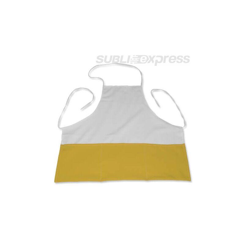 Szublimációs konyhai kötény sárga