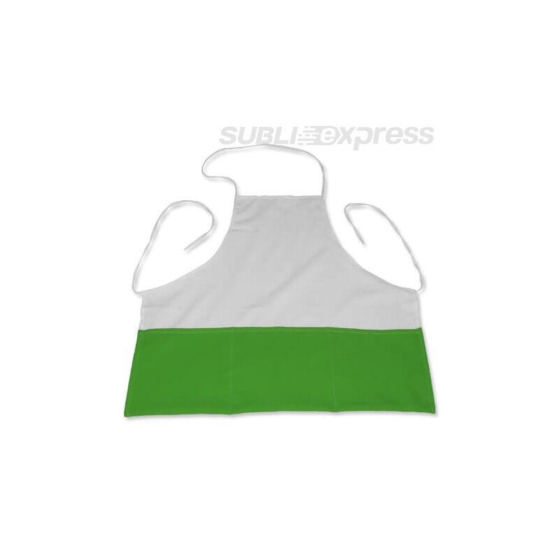 Szublimációs konyhai kötény sötétzöld