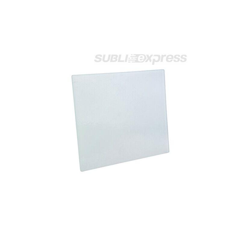 19 x 23 cm-es szublimációs üveg alátét