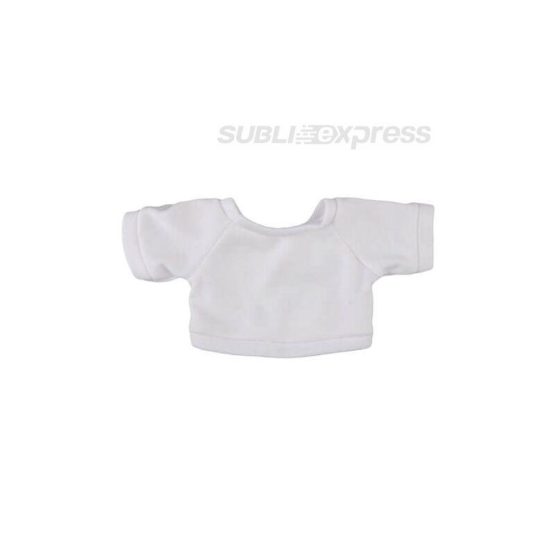 18 cm-es szublimációs póló plüssmacihoz