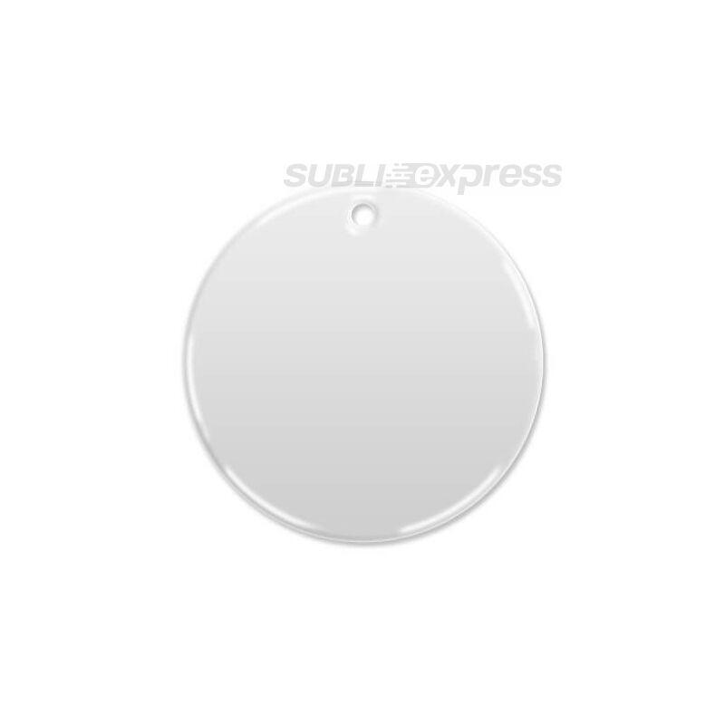 7 cm-es átmérőjű szublimációs csempe kör alakú