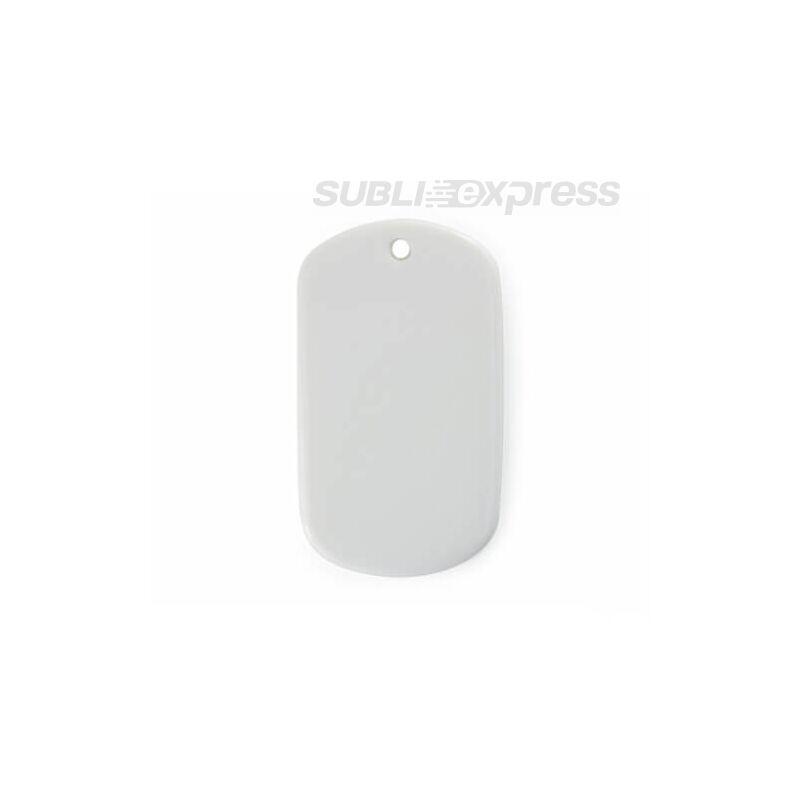 Szublimációs ovális díszcsempe címke alakú