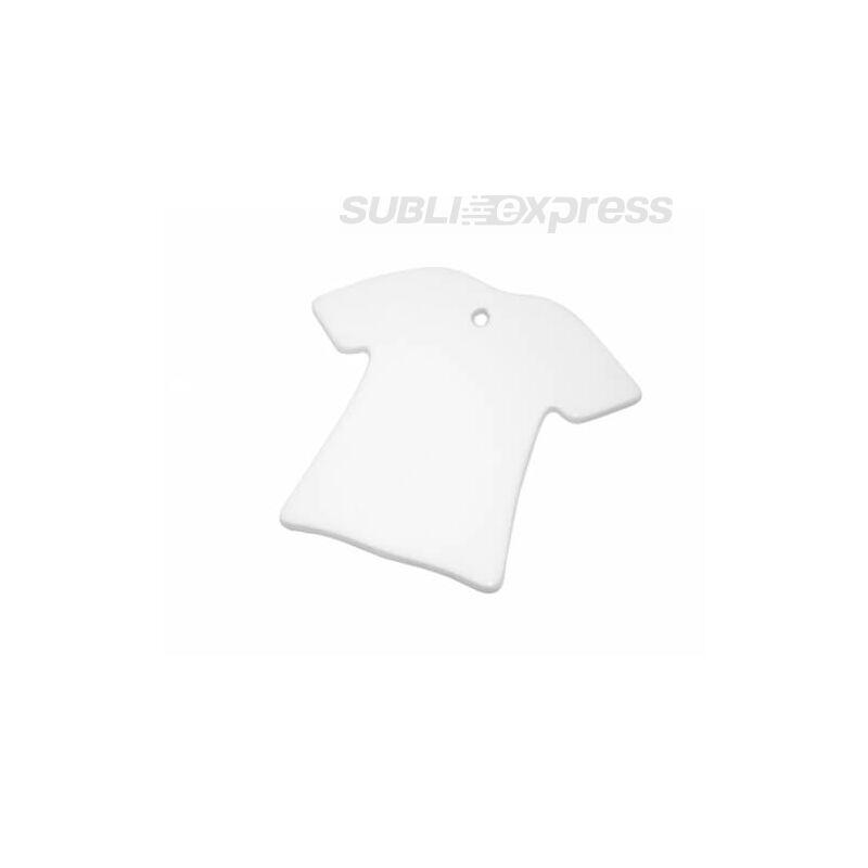 Szublimációs ovális díszcsempe póló alakú