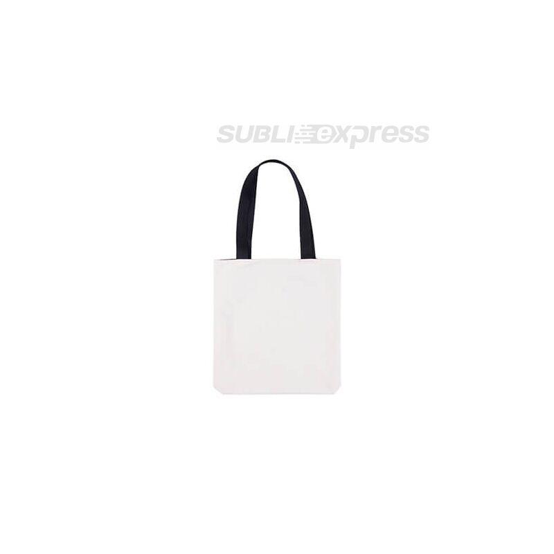 34 x 38 cm-es strand táska fekete füllel