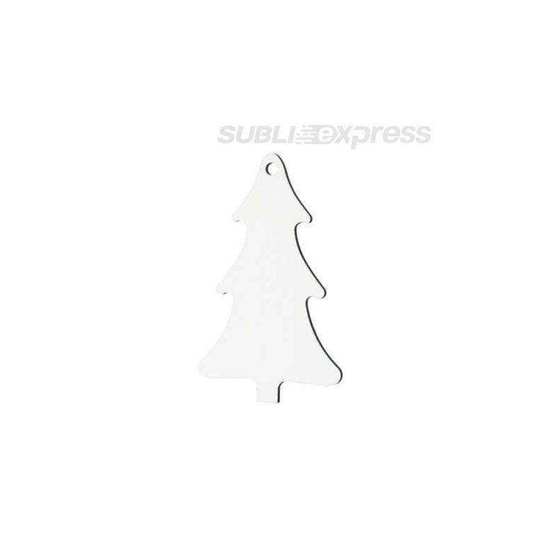 Szublimációs MDF karácsonyfadísz karácsonyfa alakú