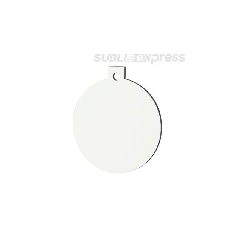 Szublimációs MDF karácsonyfadísz gömb alakú