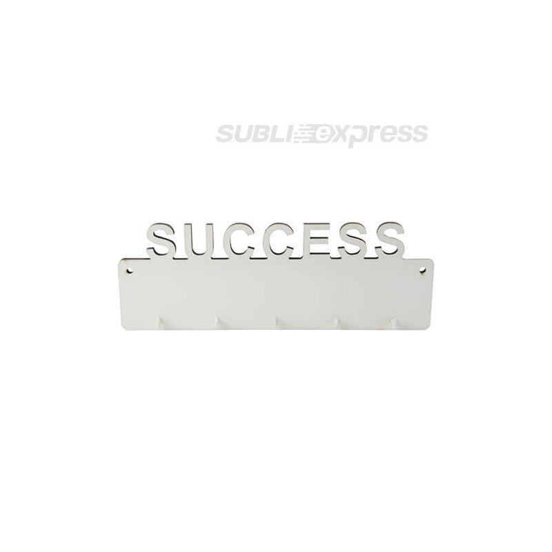 Szublimációs MDF keret kulcsakasztó SUCCESS felirattal