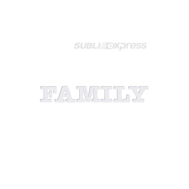 Dekoratív MDF betűk - FAMILY