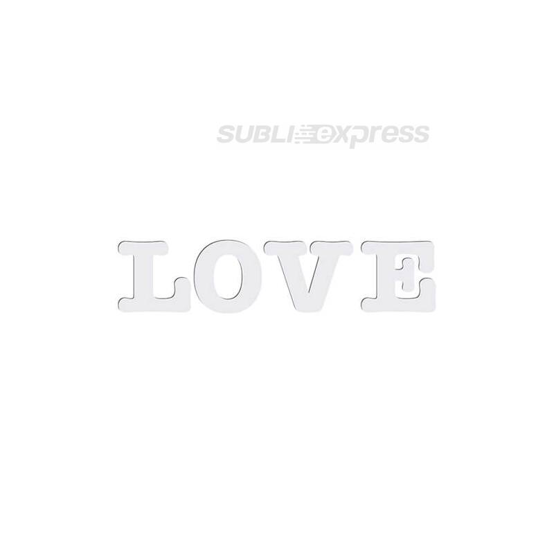 Dekoratív MDF betűk - LOVE