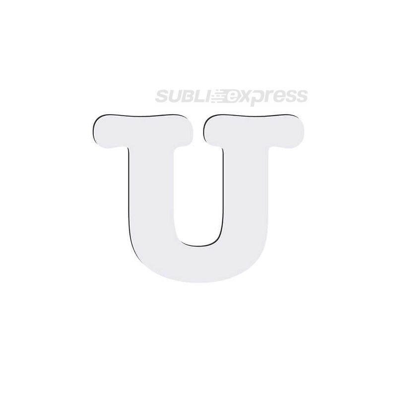 Dekoratív MDF betűk - U